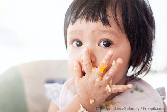 Baby isst zu viel