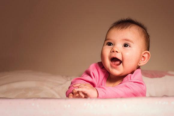 Mimik und gestik baby
