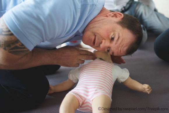Erste Hilfe bei Babys
